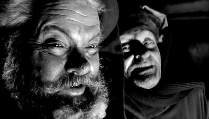 Alan Webb y Orson Welles. (Campanadas a medianoche. Alpine Films, Internacional Films. 1965.)