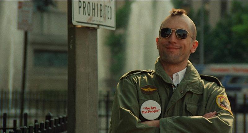 Robert de Niro. (Taxi driver. Columbia Pictures. 1976.)