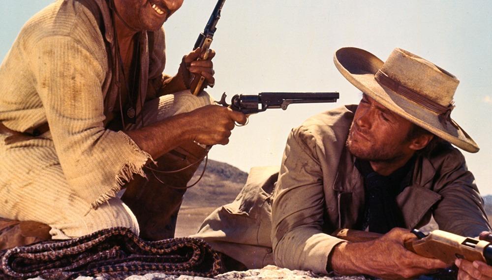 Clint Eastwood y Eli Wallach. (El bueno, el feo y el malo. Produzioni Europee Associati (PEA), Arturo González P.C, Constantin Film. 1966.)