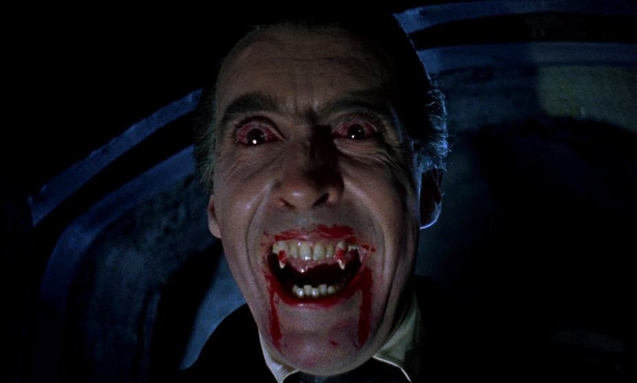 Christopher Lee. (Horror of Dracula. Hammer Productions. 1958.)