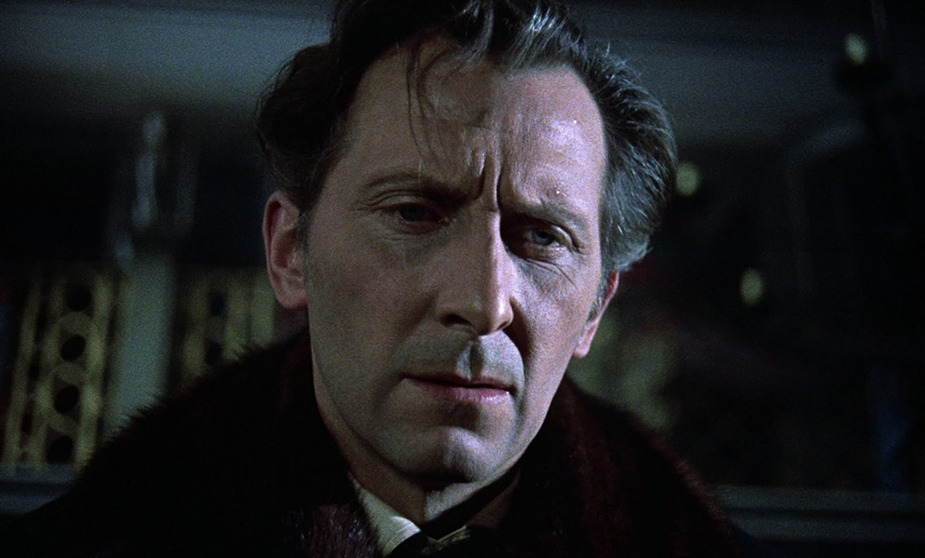 Peter Cushing. (Horror of Dracula. Hammer Productions. 1958.)