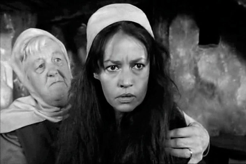 Jeanne Moreau. (Campanadas a medianoche. Alpine Films, Internacional Films. 1965.)