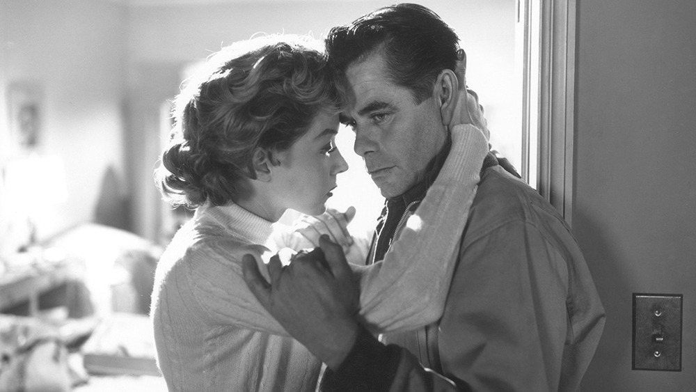 Gloria Grahame y Glenn Ford. (Deseos humanos. Columbia Pictures. 1954.)