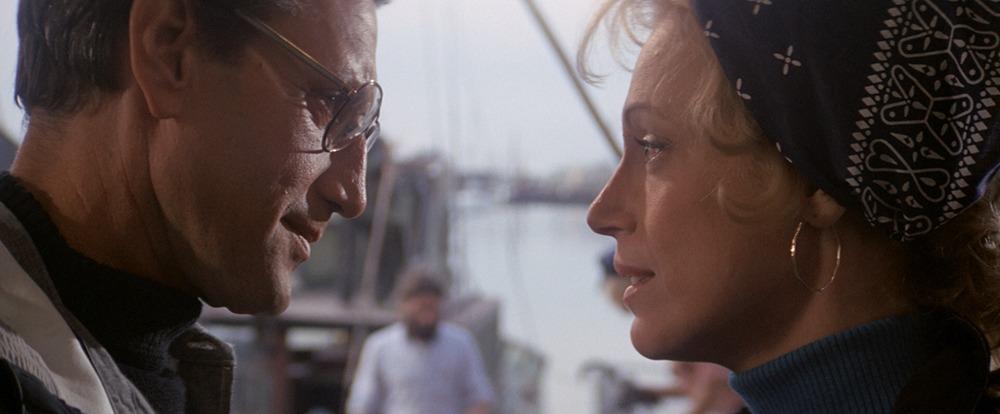 Lorraine Gary y Roy Scheider. (Jaws. Zanuck/Brown, Universal Pictures. 1975.)