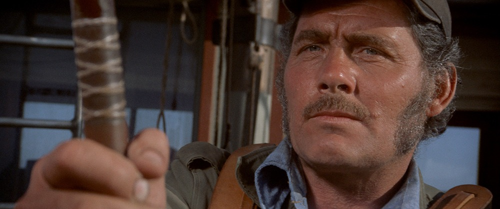 Robert Shaw. (Jaws. Zanuck/Brown, Universal Pictures. 1975.)