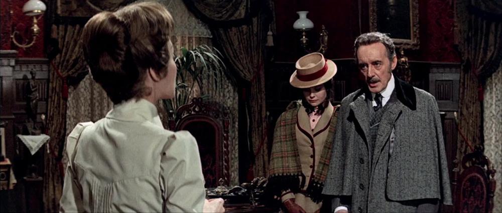 Lili Palmer, Cristina Galbó y Tomás Blanco. (La residencia. Anabel Films. 1969.)