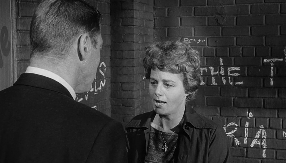 Shelley Winters y Burt Lancaster. (Los jóvenes salvajes. United Artists. 1961.)