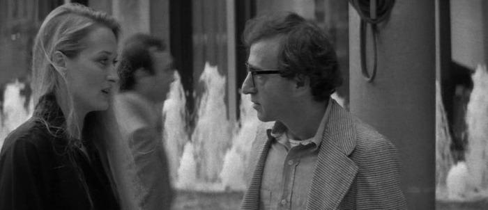Meryl Streep y Woody Allen. (Manhattan. Jack Rollins & Charles H. Joffe Production, United Artists. 1979.)