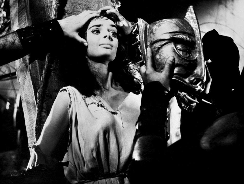 Barbara Steele. (La máscara del demonio. Galatea Film, Jolly Film. 1960.)