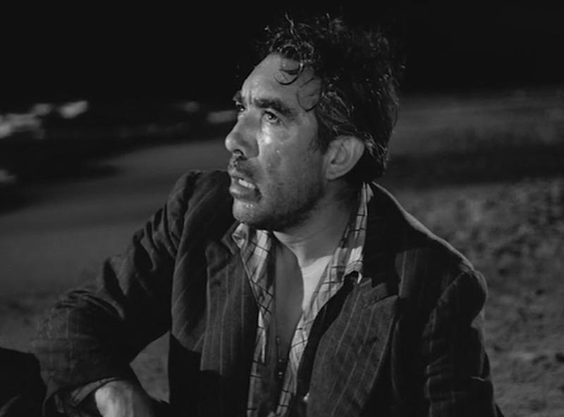 Anthony Quinn. (La strada. Ponti de Laurentiis. 1954.)