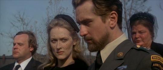 Meryl Streep y Robert De Niro. (The deer hunter. EMI Films, Universal Pictures. 1978.)