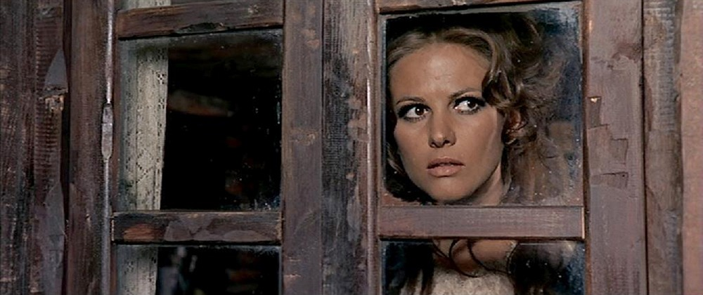 Claudia Cardinale. (Once upon a time in the west. Paramount Pictures. 1968.)