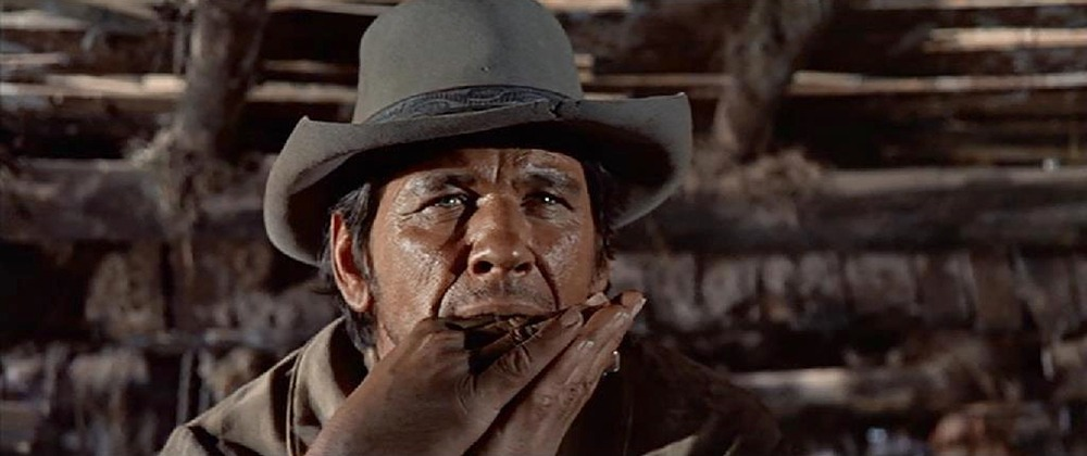 Charles Bronson. (Once upon a time in the west. Paramount Pictures. 1968.)