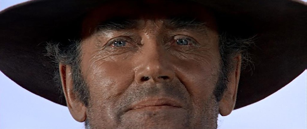 Henry Fonda. (Once upon a time in the west. Paramount Pictures. 1968.)