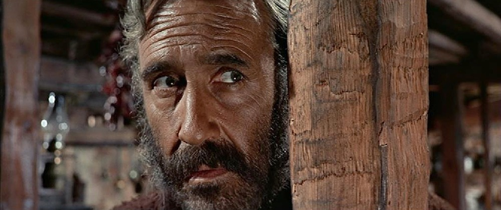 Jason Robards. (Once upon a time in the west. Paramount Pictures. 1968.)