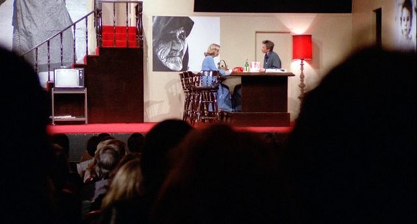 Gena Rowlands y John Cassavetes. (Opening night. Faces Distribution. 1977.)