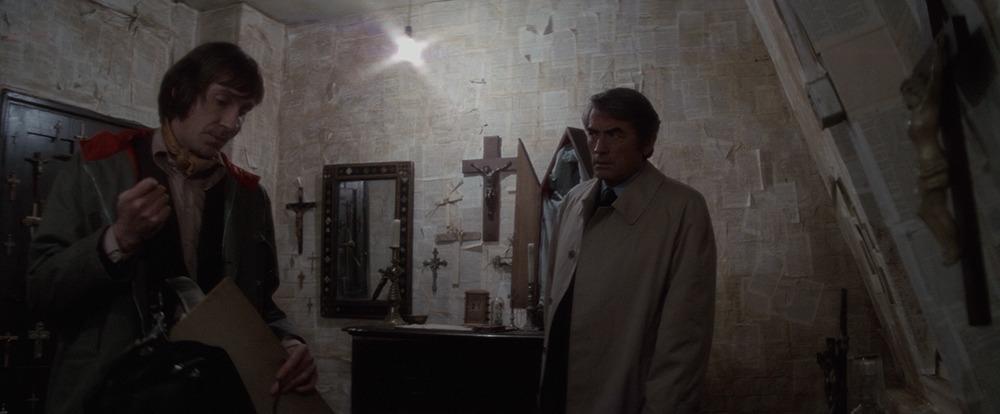 David Warner y Gregory Peck. (La profecía. 20th Century Fox. 1976.)