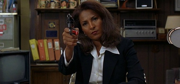 Pam Grier. (Jackie Brown. Band Apart, Miramax, Lawrence Bender Productions Miramax. 1997.)