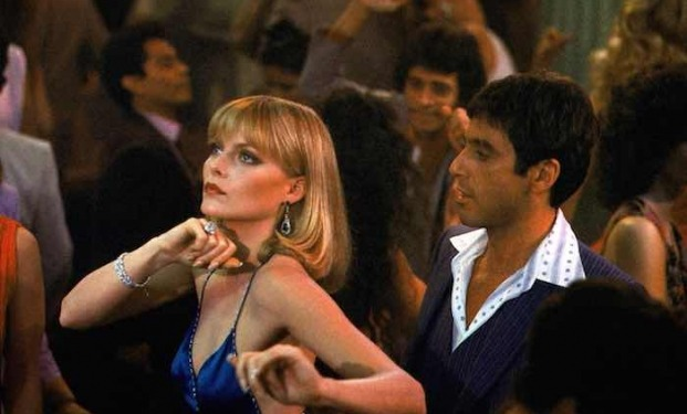 Michelle Pfeiffer y Al Pacino. (Scarface. Universal Pictures. 1983.)