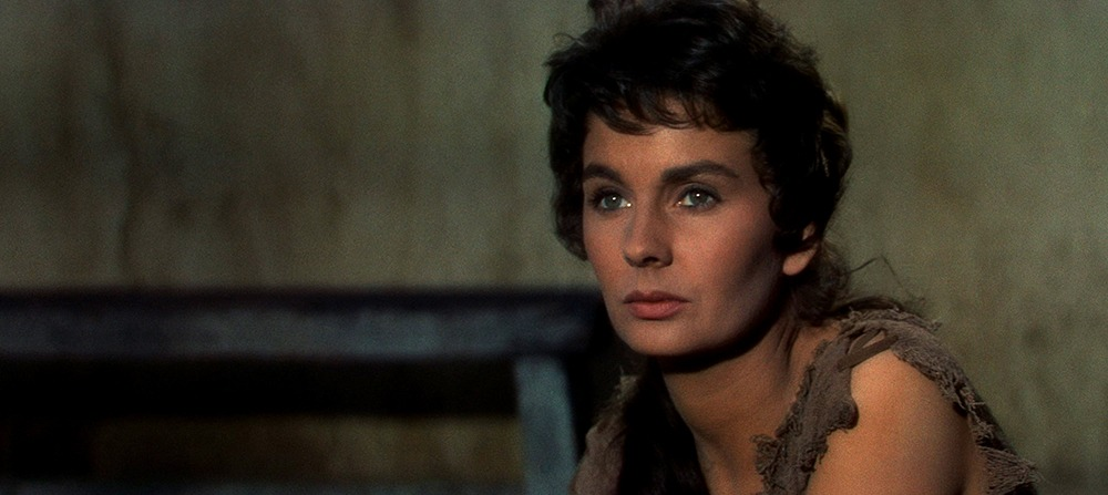 Jean Simmons. (Espartaco. Bryna Productions, Universal Pictures. 1960.)