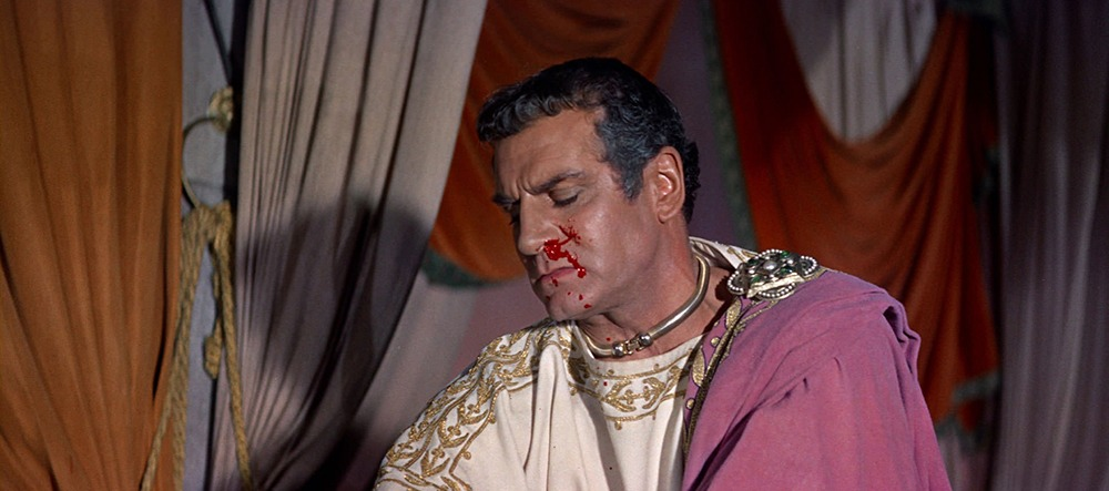Laurence Olivier. (Espartaco. Bryna Productions, Universal Pictures. 1960.)