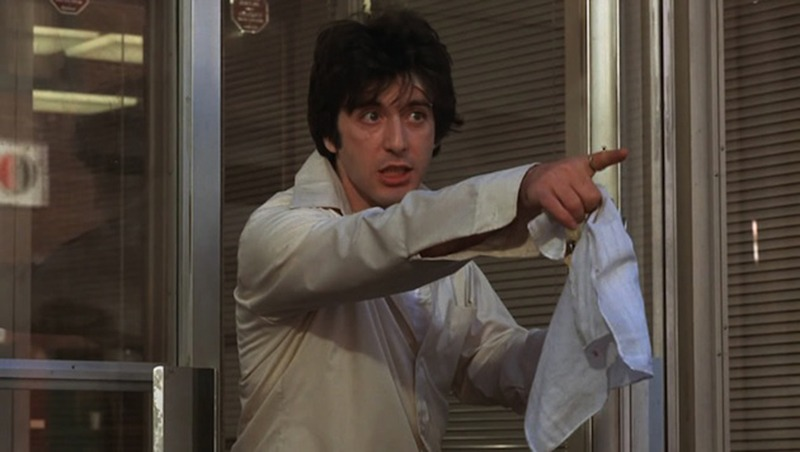 Al Pacino. (Tarde de perros. Warner Bros., Artists Entertainment Complex. 1975.)