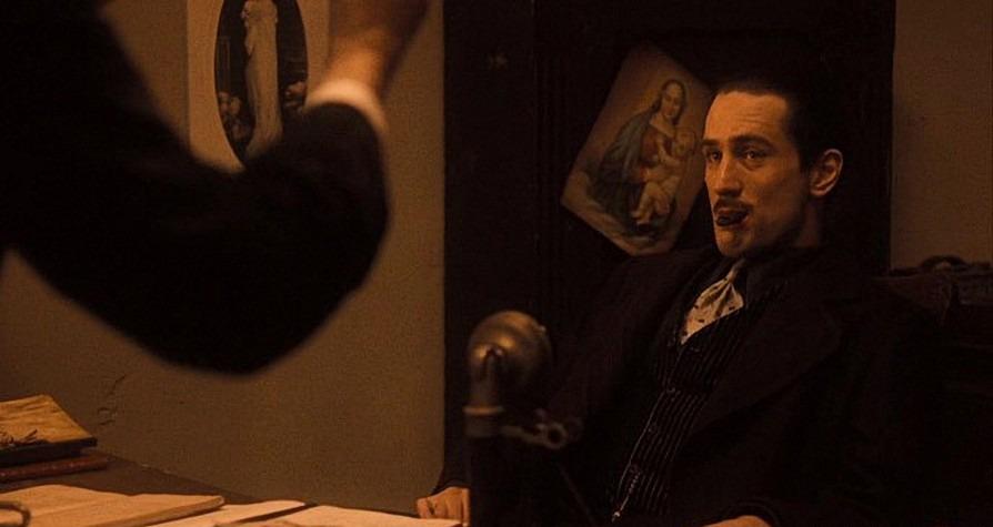 Robert De Niro. (The Godfather II. Paramount Pictures. 1974.)