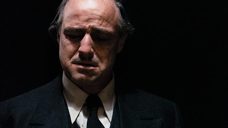 Marlon Brando. (The Godfather. Paramount Pictures, Alfran Productions. 1972.)