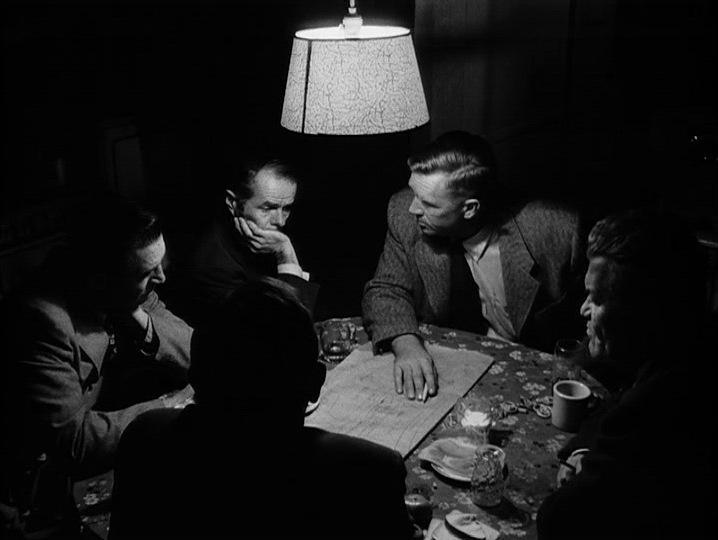 Sterling Hayden y Elisha Cook Jr. (The Killing. Harris-Kubrick Productions. United Artists. 1956.)