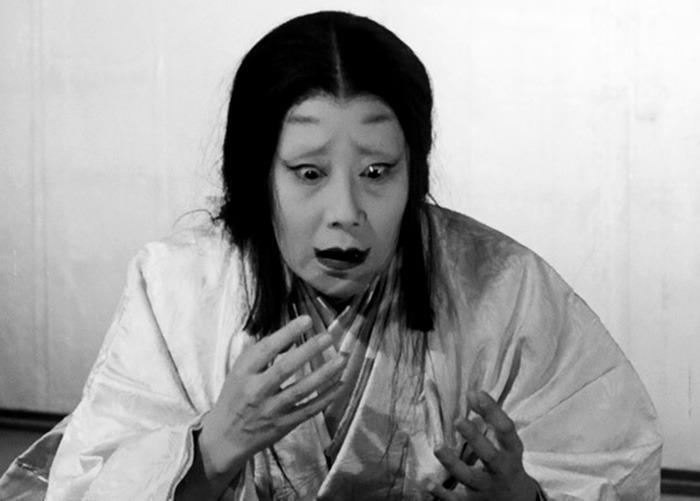 Isuzu Yamada. (Trono de sangre. Toho, Kurosawa Production Co. 1957.)