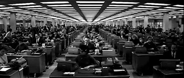 El apartamento. (United Artists, The Mirisch Corporation. 1960.)