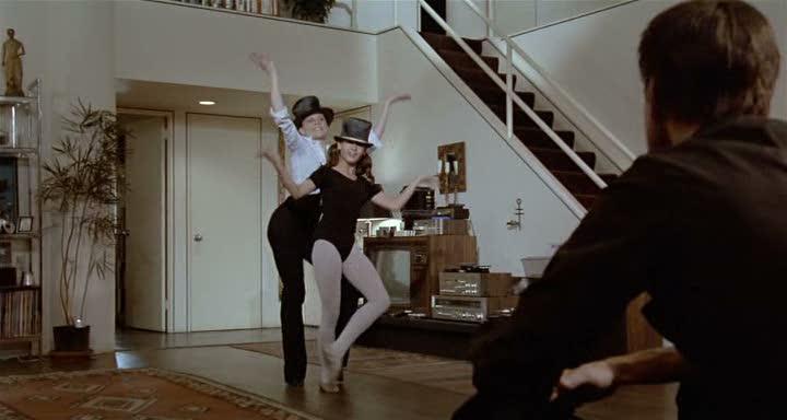 Ann Reiking, Erzsebet Foldi y Roy Scheider .(All that jazz. Columbia Pictures, 20th Century Fox. 1979.)
