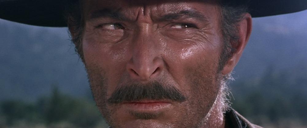 Lee Van Cleef. (El bueno, el feo y el malo. Produzioni Europee Associati (PEA), Arturo González P.C, Constantin Film. 1966.)