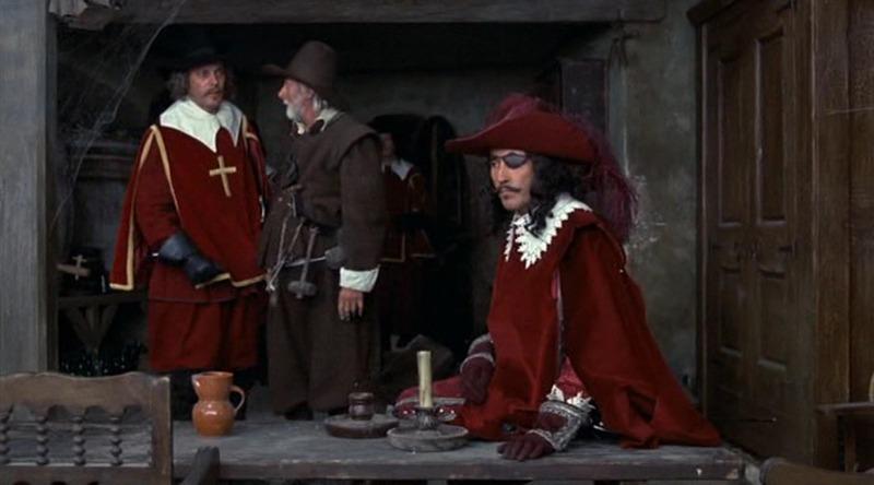 Christopher Lee. (Los tres mosqueteros. Salkind Productions, Film Trust S.A. Este Films. 1973/1974.)
