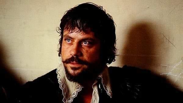 Oliver Reed. (Los tres mosqueteros. Salkind Productions, Film Trust S.A. Este Films. 1973/1974.)