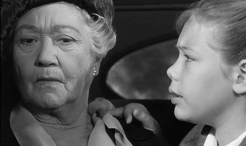 Fay Bainter y Karen Balkin. (The children's hour. United Artists. 1961.)