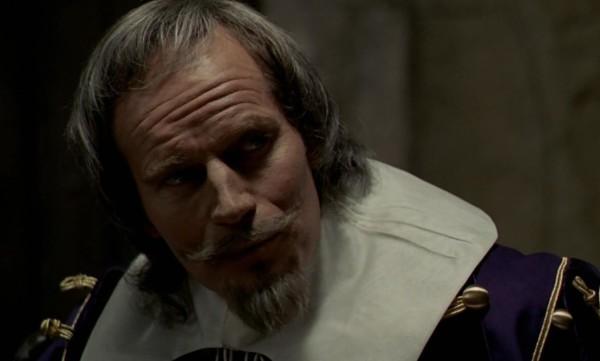 Charlton Heston. (Los tres mosqueteros. Salkind Productions, Film Trust S.A. Este Films. 1973/1974.)