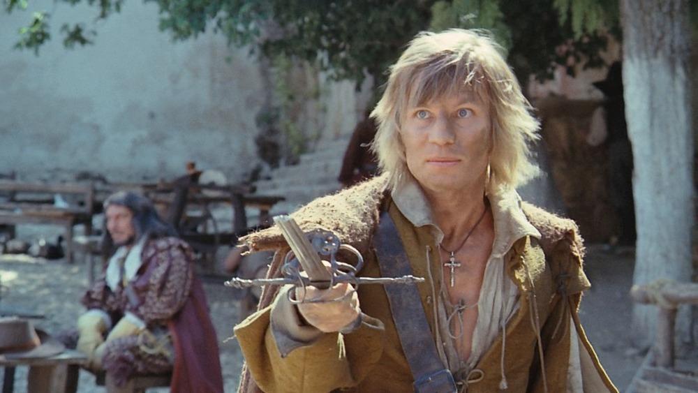 Michael York. (Los tres mosqueteros. Salkind Productions, Film Trust S.A. Este Films. 1973/1974.)