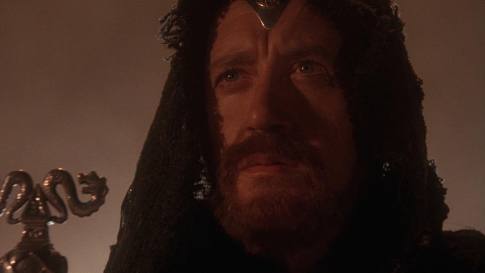 Nicol Williamson. (Excalibur. Orion Pictures, Warner Bros. 1981.)