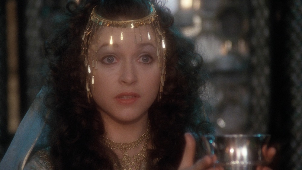 Cherie Lunghi. (Excalibur. Orion Pictures, Warner Bros. 1981.)
