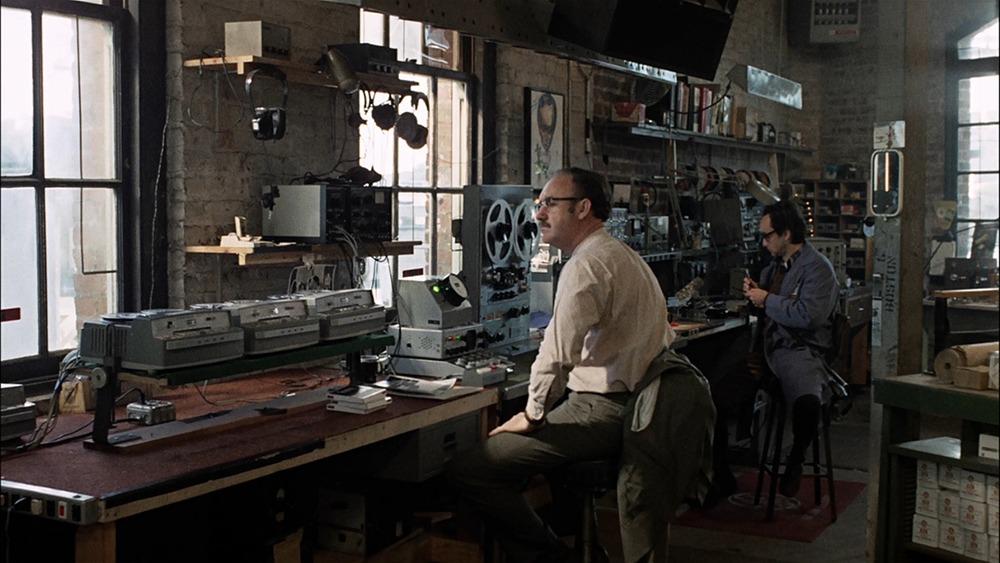 Gene Hackman y John Cazale. (La conversación. American Zoetrope, The Directors Company, Coppola Co. Production, Paramount Pictures. 1974.)