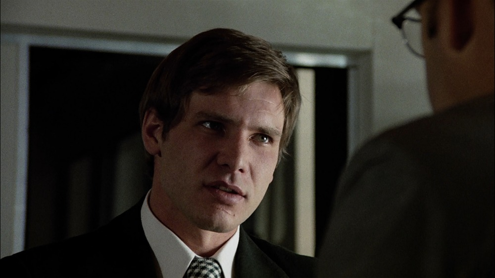 Harrison Ford. (La conversación. American Zoetrope, The Directors Company, Coppola Co. Production, Paramount Pictures. 1974.)