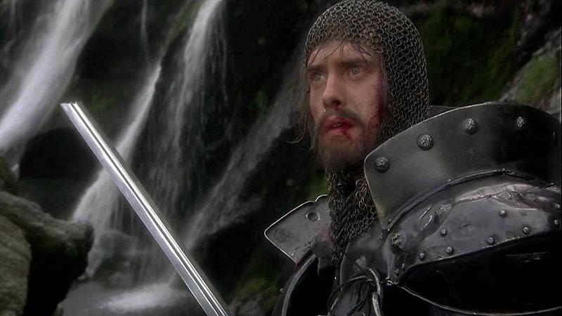 Nigel Terry. (Excalibur. Orion Pictures, Warner Bros. 1981.)
