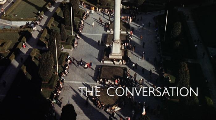 La conversación. (American Zoetrope, The Directors Company, Coppola Co. Production, Paramount Pictures. 1974.)