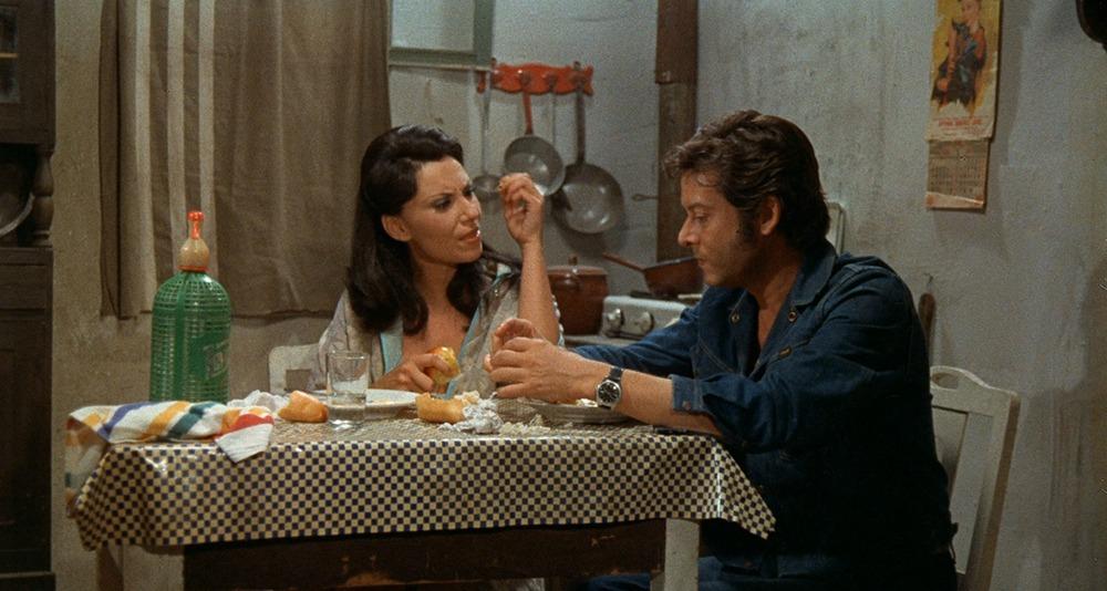 Vicky Lagos y Vicente Parra. (La semana del asesino. Atlas International Film. 1972.)