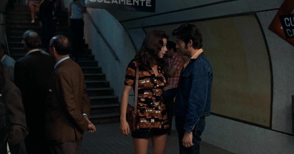 Emma Cohen y Vicente Parra. (La semana del asesino. Atlas International Film. 1972.)