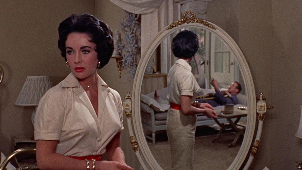 Elizabeth Taylor y Paul Newman. (La gata sobre el tejado de zinc. Avon Productions, Metro-Goldwyn-Mayer. 1958.)
