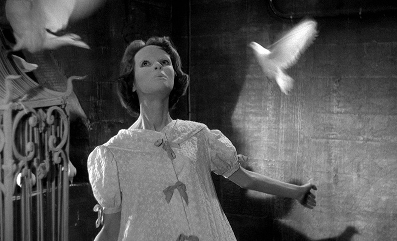 Edith Scob. (Los ojos sin rostro. Champs-Élysées Productions, Lux Film. 1960.)