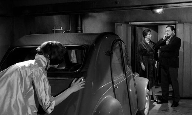 Edith Scob, Alida Valli y Pierre Brasseur. (Los ojos sin rostro. Champs-Élysées Productions, Lux Film. 1960.)