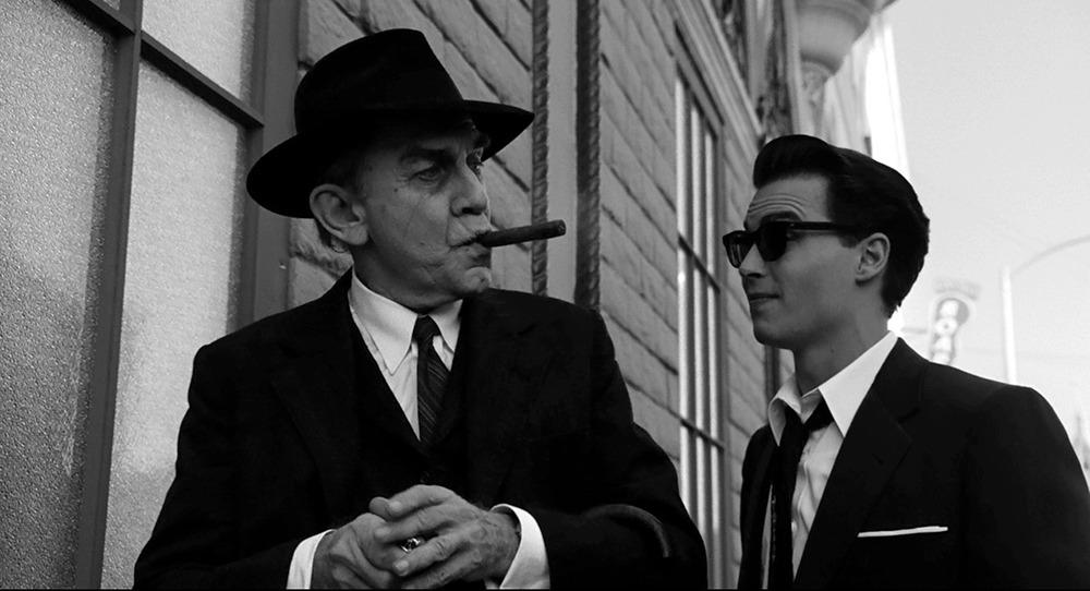 Martin Landau y Johnny Deep. (Ed Wood. Touchstone Pictures. 1994.)
